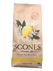 Lemon Ginger Scones Mix