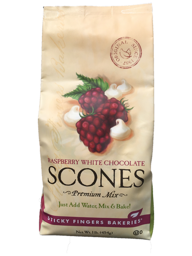 Raspberry White Chocolate Scones Mix