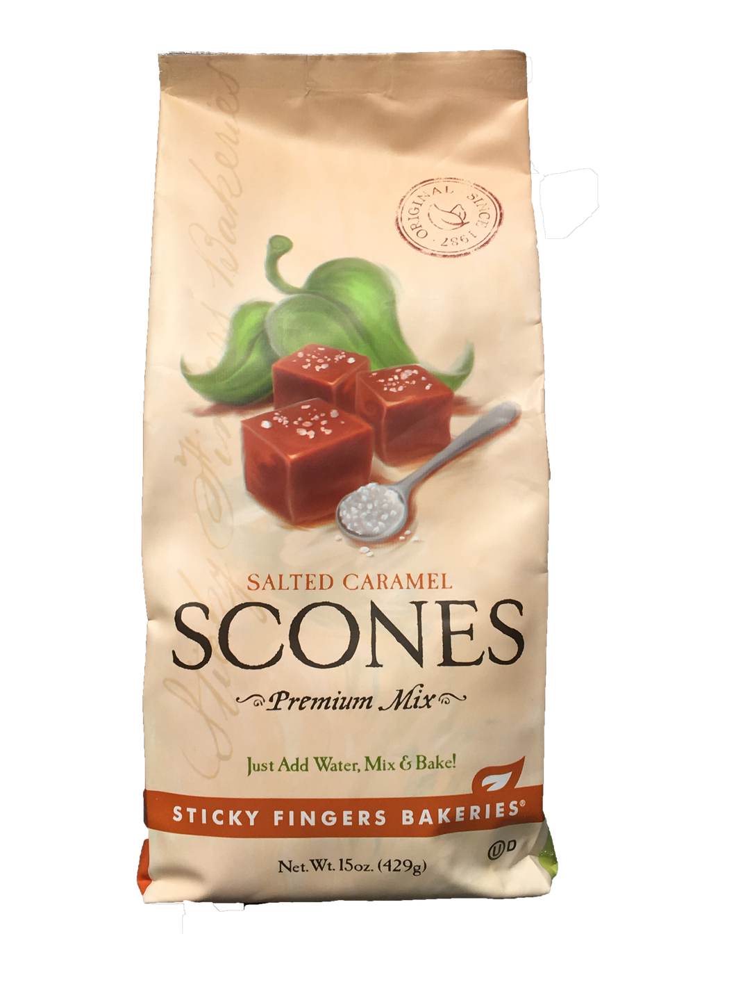 Salted Caramel Scones Mix