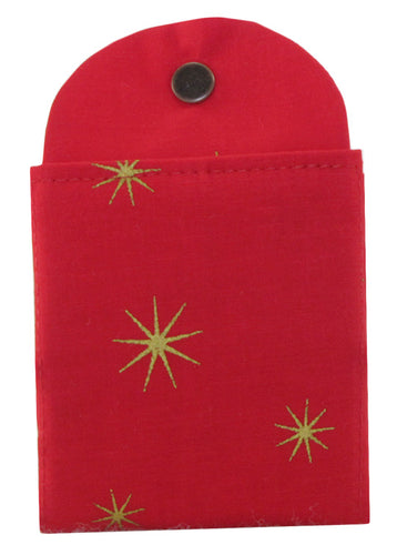Holiday Star (Red) - Tea Wallet