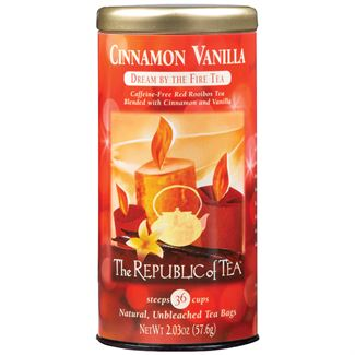 Cinnamon Vanilla Red Tea Bags