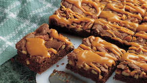 Gooey Caramel Fudge Brownie