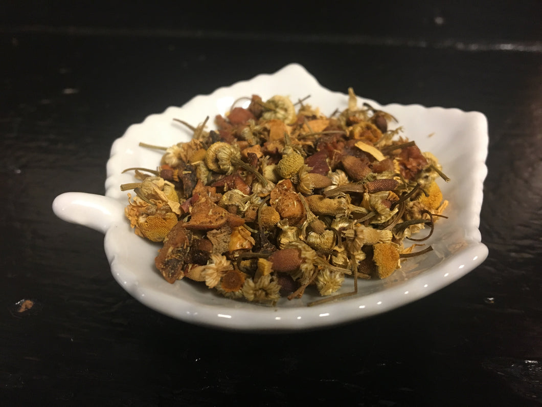Cinnamon Apple with Chamomile - 2 oz Loose Herbal Tea