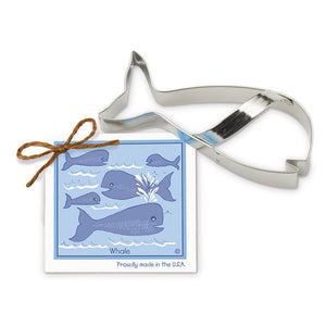 Whale Cookie Cutter