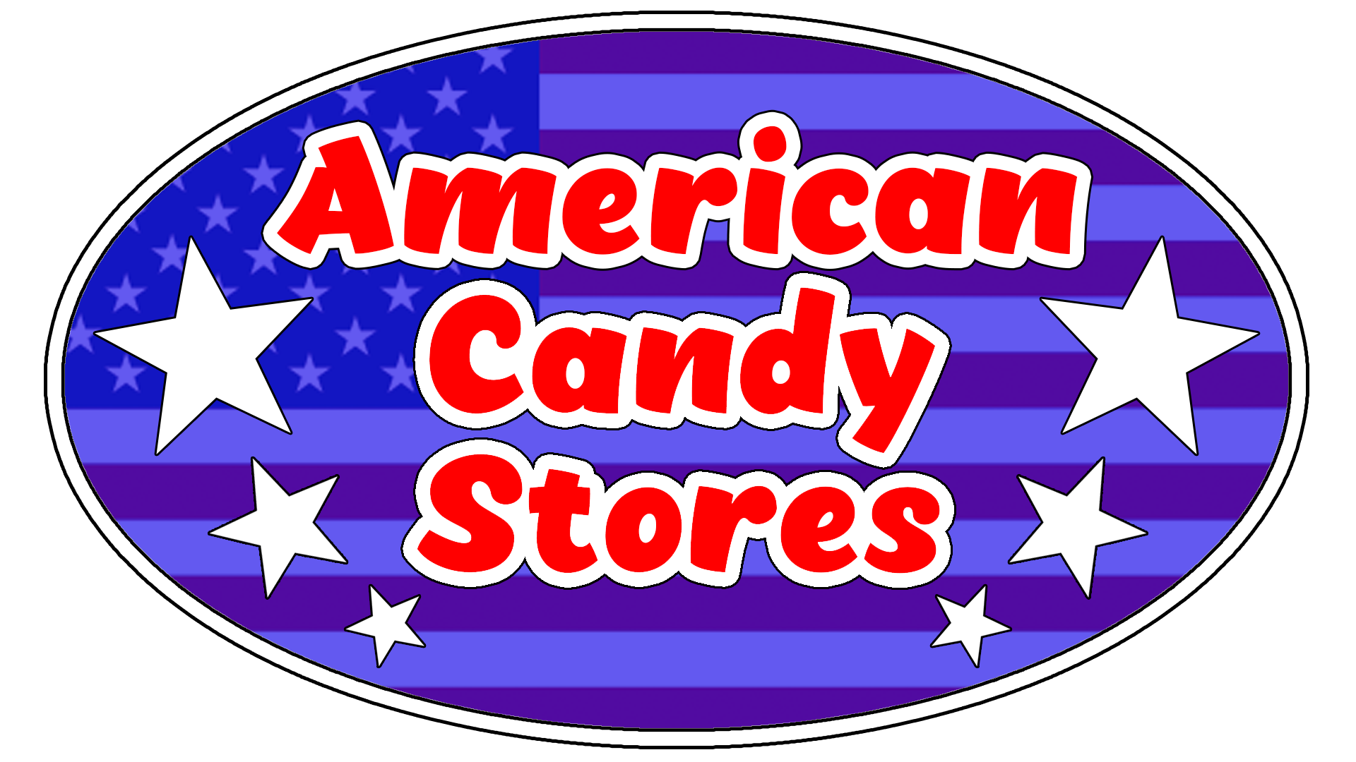 American Candy Store Logo