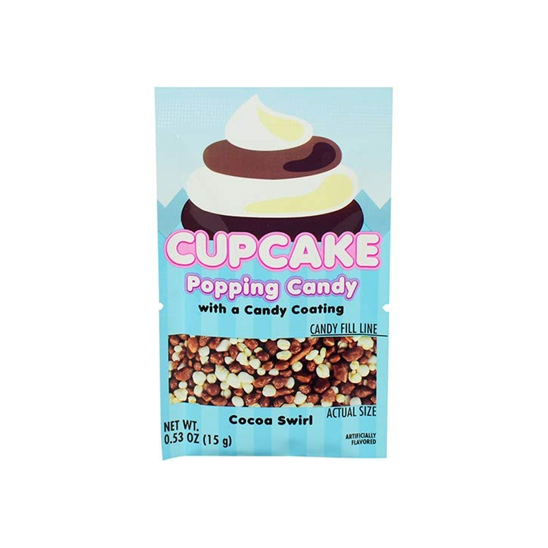 Cupcake Popping Candy w/ Candy Coating - 0.53oz (15g)