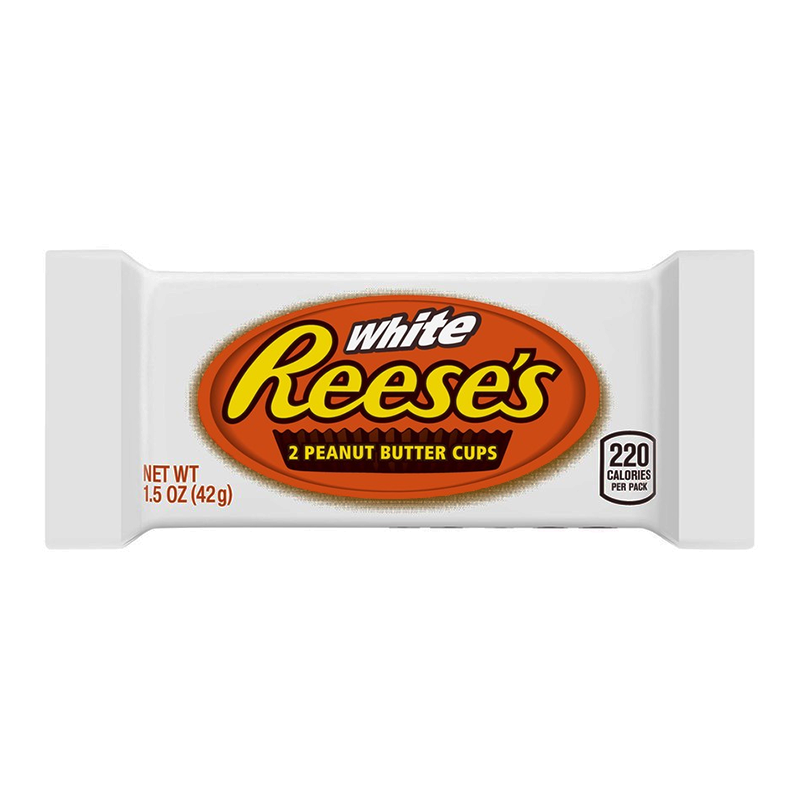 Reese's White Chocolate Peanut Butter Cups - 39g