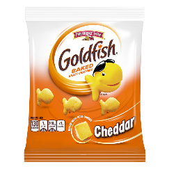 Pepperidge Farm Goldfish Cheddar Cheese Crackers - - November date 43g x 10 bags