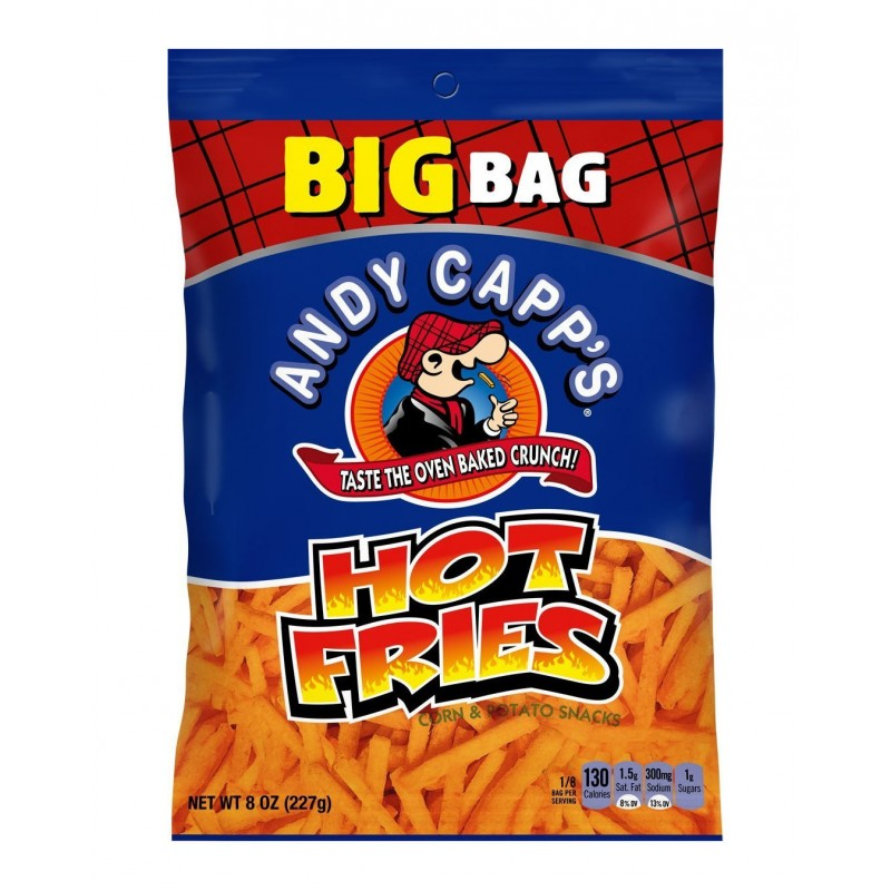 Andy Capp's Hot Fries - 227g