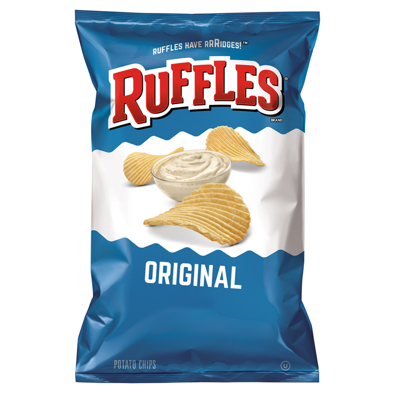 Ruffles Potato Chips Original 6.5oz (184.2g)