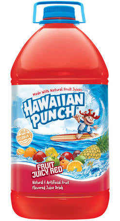 Hawaiian Punch Fruit Juicy Red 1 Gallon - New