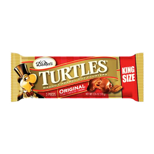 DeMet's Turtles Original 3 Piece King Size Bar 1.76oz (50g) - New
