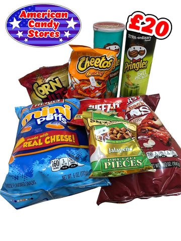 American Candy Stores Subscription Savoury Surprise Selection  - £20