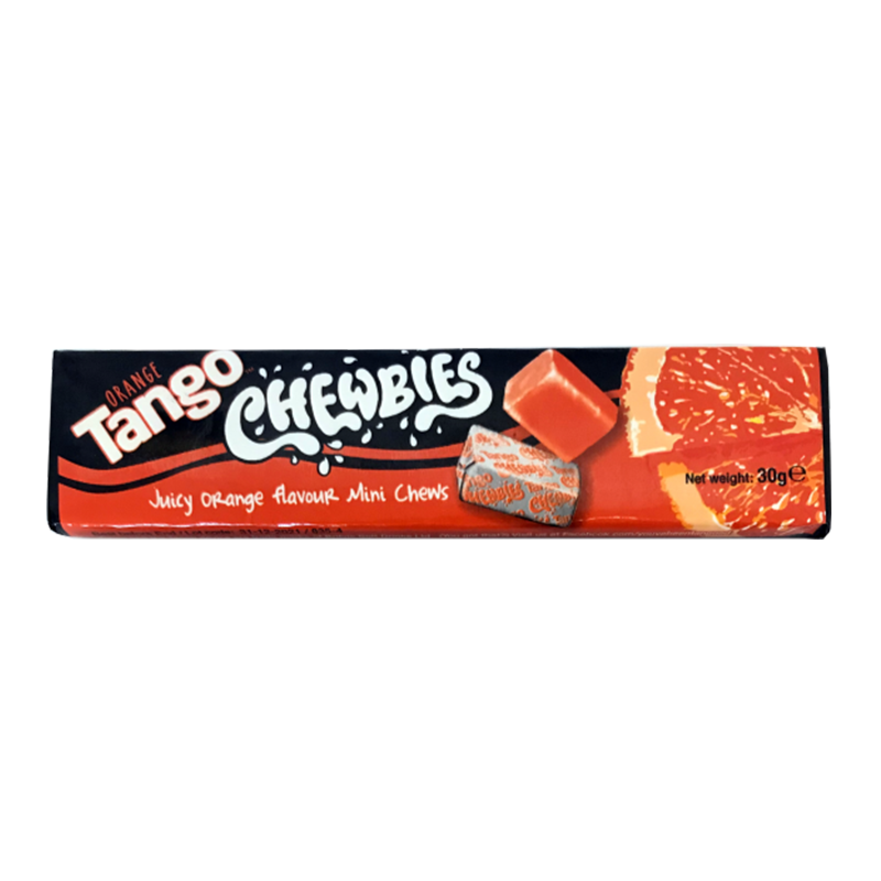 Tango Chewbies Orange 30g - New
