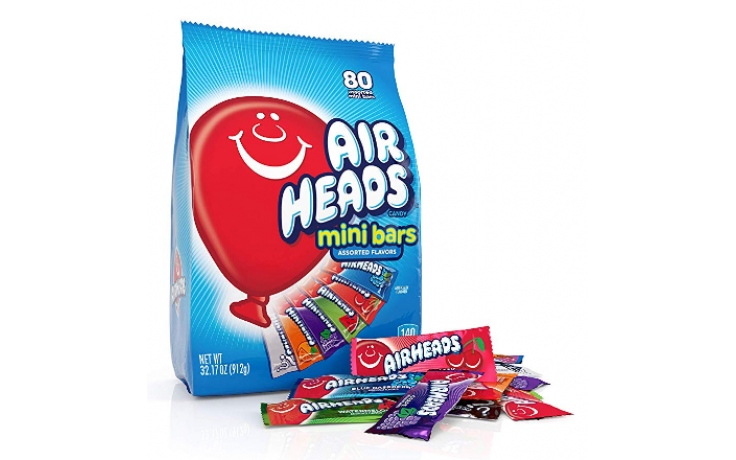 AirHeads mini bars big bag (912g)