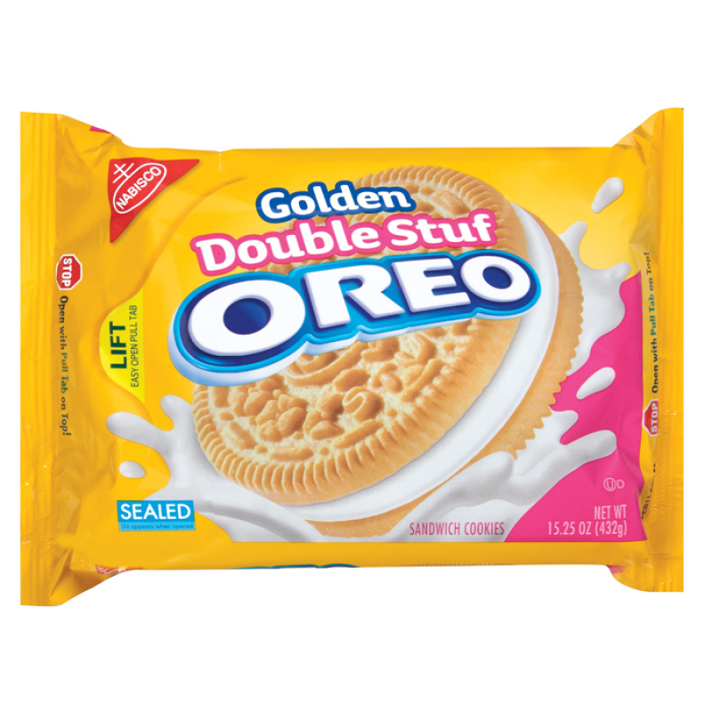 Oreo Golden Double Stuf 15.25oz (432g)