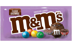 M&M's Fudge Brownie Chocolate Candies Share Size (80.2g) - £2.99- New