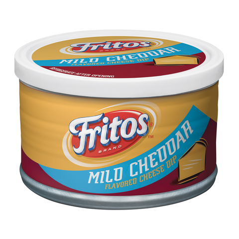 Fritos Mild Cheddar Cheese Dip 9oz (255g) - New