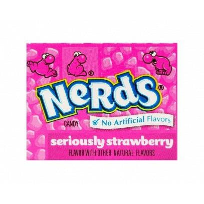 Wonka Nerds mini - Strawberry - 12g