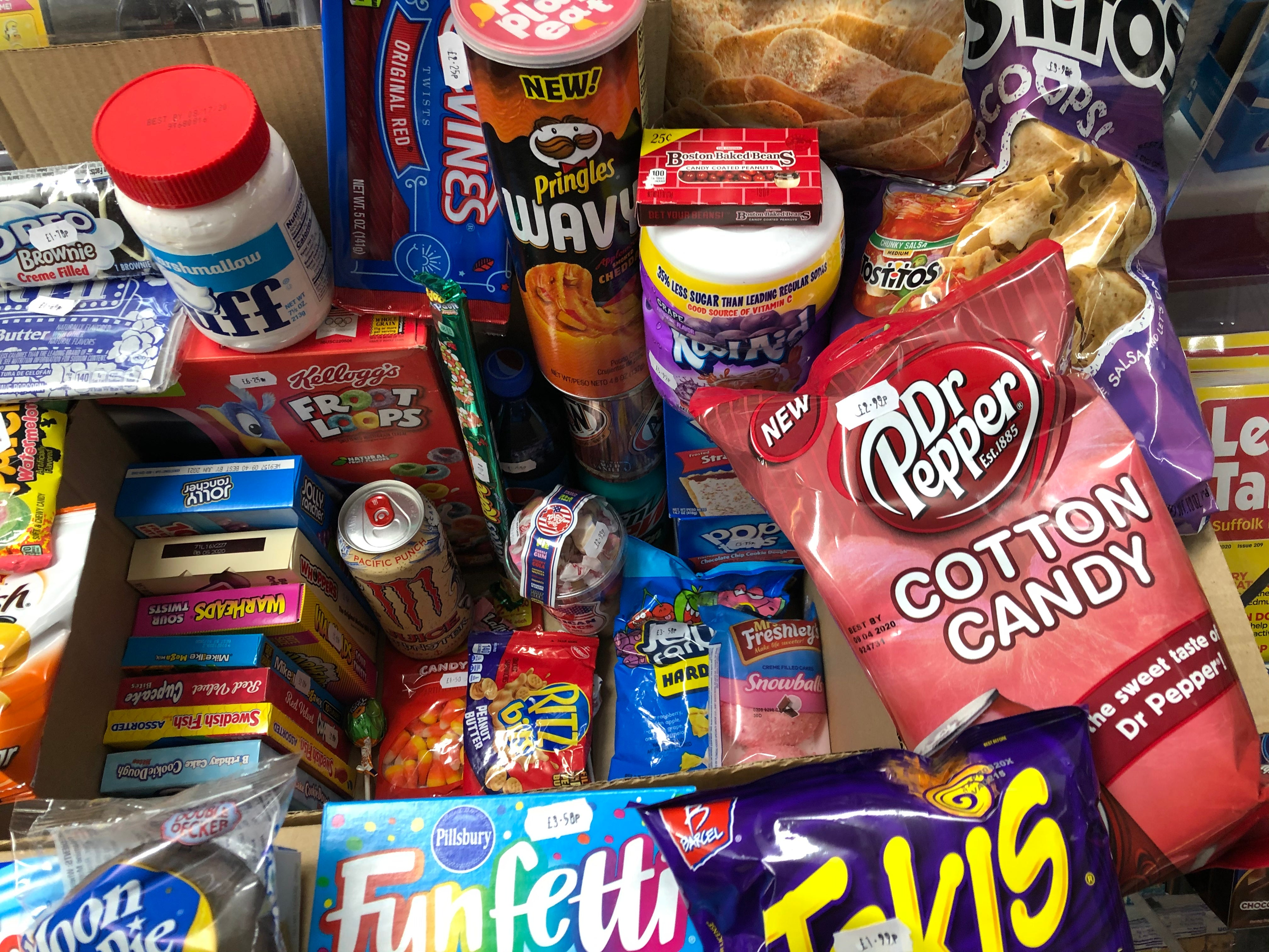 American Candy Stores Surprise Selection - Mega Selection - £99