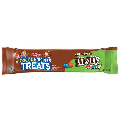 Kelloggs Cocoa Krispies Treats With M&Ms Minis Big Bar (55g) - New