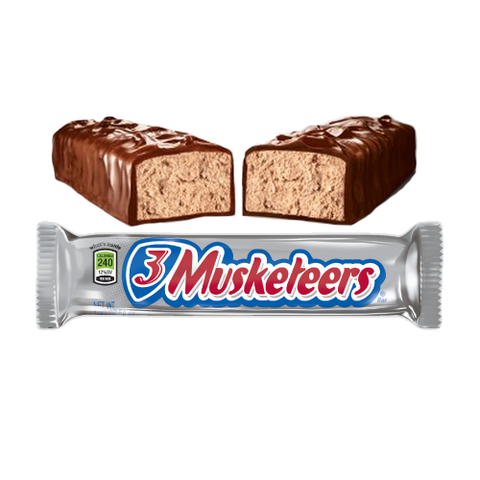 3 Musketeers Bar (1.92oz) - New