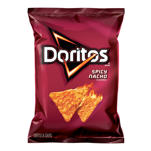 Doritos Spicy Nacho Cheese Corn Chips 7oz (198.4g) - New