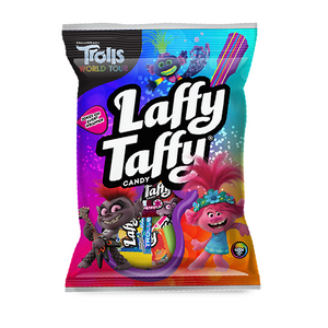 Laffy Taffy Trolls Peg Bag - 3.8oz (108g) - New