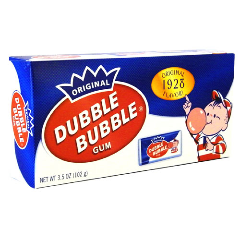 Dubble Bubble - Nostalgic Theatre Box - 3.5oz (99g)