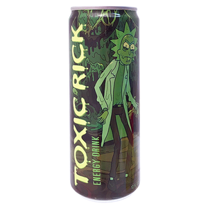 Rick & Morty Toxic Rick Energy Drink - 12fl.oz (355ml)