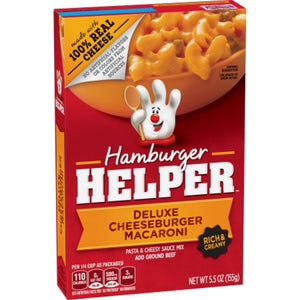 Hamburger Helper Deluxe Cheeseburger Macaroni 5.5oz (155g)