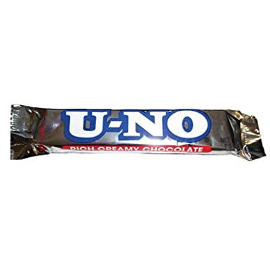 Annabelle's U-no chocolate bar - 38g -New
