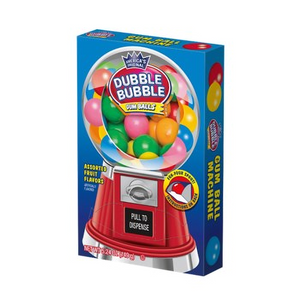 Dubble Bubble Gumball Machine Box 5.24oz (149g) - New
