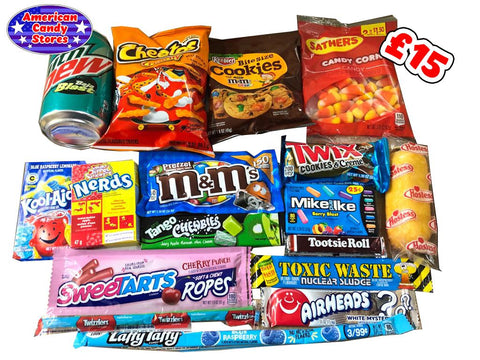 American Candy Stores Subscription Surprise - Treat Selection - £15
