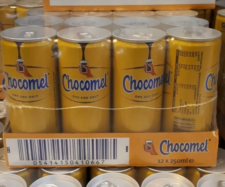 Chocomel Can 250ml (EU) - New - Case of 12 cans