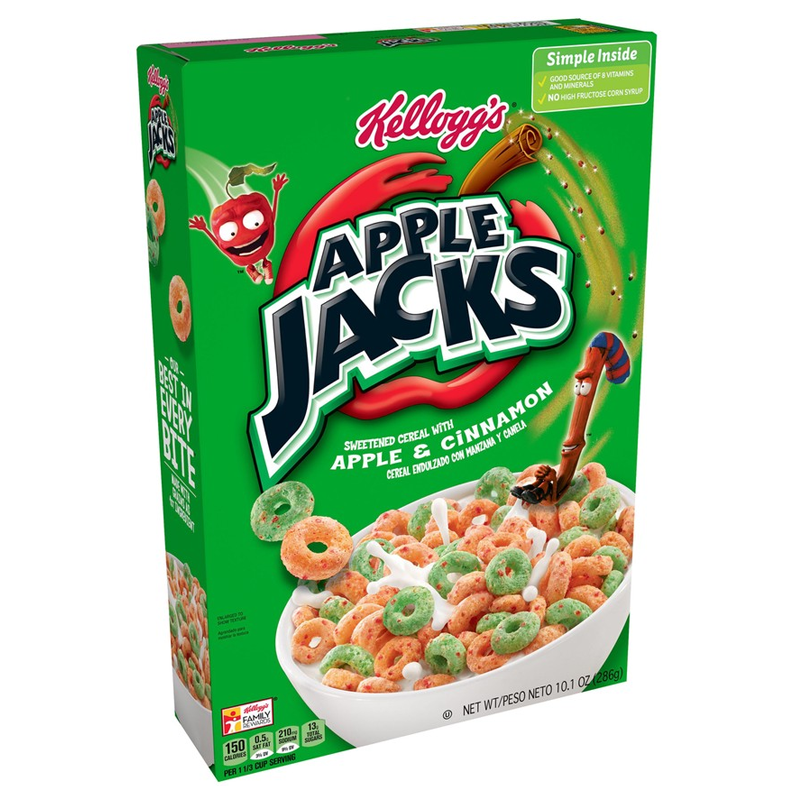 Kellogg's Apple Jacks - 10.1oz (286g)