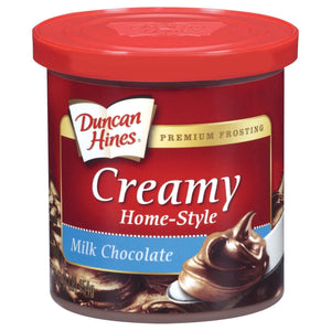 Duncan Hines Creamy Milk Chocolate Frosting - 16oz (454g) - New