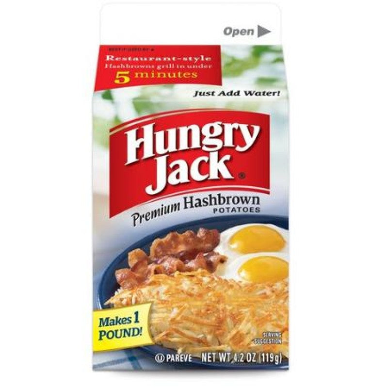 Hungry Jack Hash Brown Potato Mix 4.2oz (119g) - New