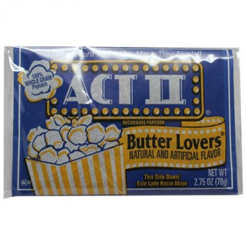 Act II Butter Popcorn 2.75oz