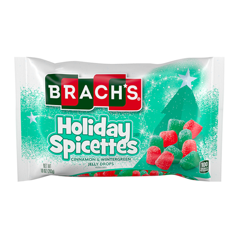 Brach's Holiday Spicettes Bag - 10oz (283g)  - New