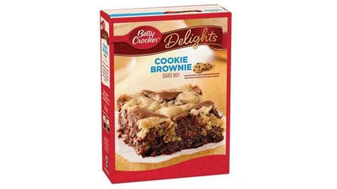 Betty Crocker Cookie Brownie Bar mix (493g)  - New