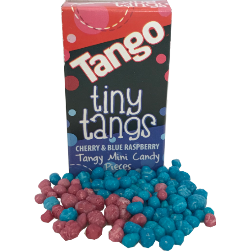 Tango Tiny Tangs Candy Pieces - 16g - New