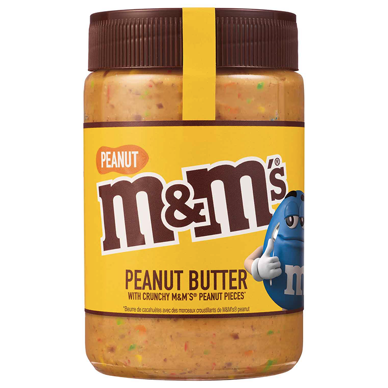 M&M's Peanut Butter Spread w/ Crunchy M&M's Peanut Pieces (EU) - 320g - New
