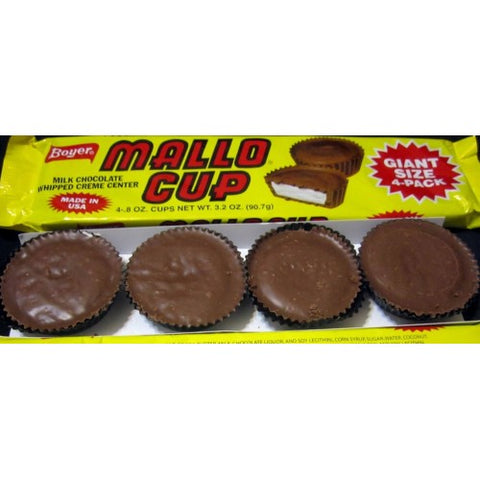 Boyer Milk Chocolate Mallo Giant 4 packs - New