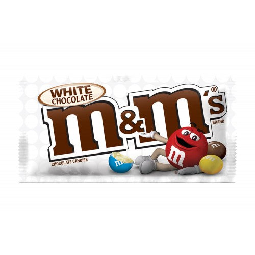 M&M's - White Chocolate - 1.5oz (43g) - New