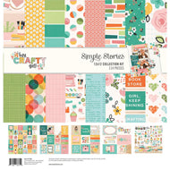 Simple Stories - Hey, Crafty Girl Collection