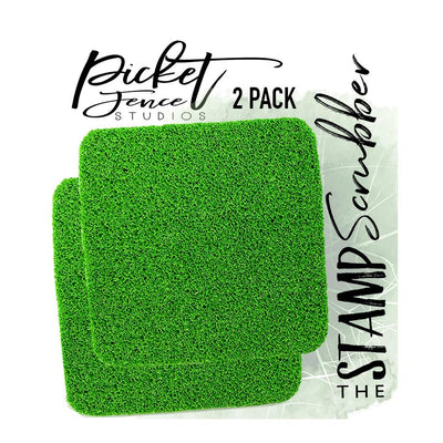 Picket Fence Studios - The Stamp Scrubber 2/Pkg