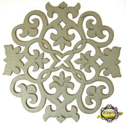"10"" Decorative Panel - Doily 2"