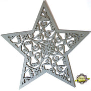 "10"" Decorative Panel - Flourish Star"