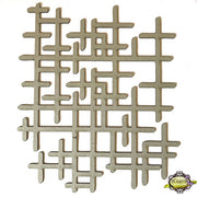"10"" Decorative Panel - Grid"
